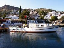 Fishing boats. In the harbor of Turgutreis (Bodrum) Turkey Royalty Free Stock Photos