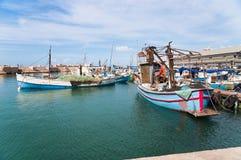 Fishing boats. Port of Yafo. Israel Royalty Free Stock Photos