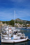 Fishing boats. In harbor Soller Mallorca Stock Photography