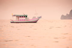 Fishing boats. Chumphon province, Thailand Stock Photography