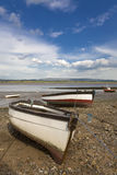 Fishing Boats. On the River Lune in north Lancashire royalty free stock images