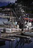 Fishing boats, Alaska Stock Photo