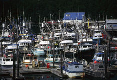 Fishing boats, Alaska Royalty Free Stock Photos