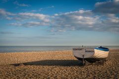 Fishing Boats Aldeburgh suffolk Royalty Free Stock Photos
