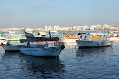 Fishing Boats, Alexandria Stock Photo