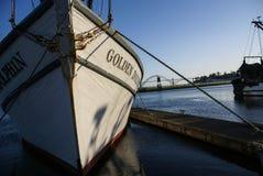 Fishing boats at anchor Royalty Free Stock Photo