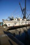 Fishing boats at anchor Stock Photo