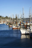 Fishing boats at anchor Stock Photography