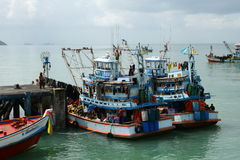 Fishing boats Royalty Free Stock Photo