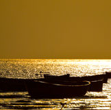 Boats fishing background. Fishing boats around the seawater of the Bay of Bengal in Bangladesh stock photography