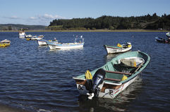 Fishing boats Stock Image