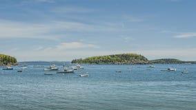 Fishing Boats At Bar Harbor Maine Royalty Free Stock Photo