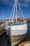 Fishing Boats At The Pier Royalty Free Stock Photography