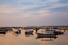 Fishing boats on Bali Stock Image
