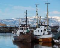 Fishing boats Stock Image