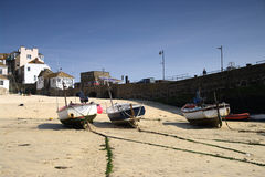 Fishing Boats on the beach 4 Royalty Free Stock Photo