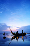 Fishing Boats. Fishing Boat in Beach in Early morning stock image
