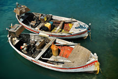 Fishing boats in Camogli. Nassignment files royalty free stock photo
