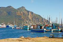 Fishing boats - Cape Town, South Africa Royalty Free Stock Photos