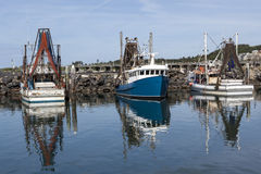 Fishing Boats at Coffs Harbour Stock Photos
