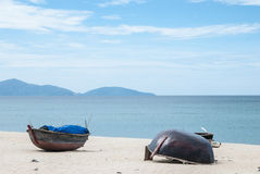 Fishing boats, Da Nang,Vietnam. Stock Photos