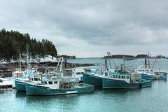 Fishing boats at Deer Island, New Brunswick Royalty Free Stock Photo