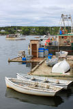 Fishing boats in Dipper Harbour, NB Royalty Free Stock Photography