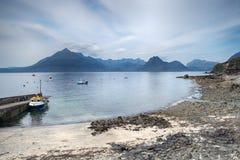 Fishing Boats at Ergol Stock Photography