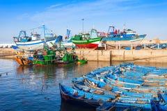 Fishing boats, Essaouira Royalty Free Stock Photo