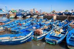 Fishing boats, Essaouira Stock Images