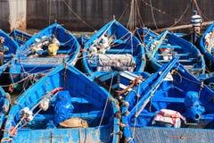Fishing boats, Essaouira Royalty Free Stock Image