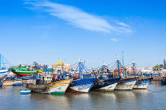 Fishing boats, Essaouira Stock Images