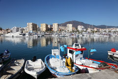 Fishing boats in Estepona, Spain Royalty Free Stock Image