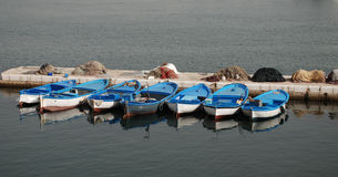 Fishing Boats Gallipoli Royalty Free Stock Image