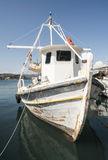 Fishing boats in Greece. Royalty Free Stock Photos