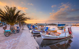 Fishing boats Greece Royalty Free Stock Image
