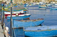 Fishing Boats, Marsaxlokk Malta Royalty Free Stock Photo