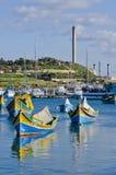 Fishing Boats environment Royalty Free Stock Images