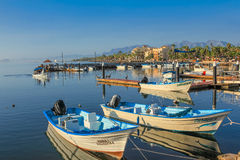 Port of Loreto Royalty Free Stock Photo