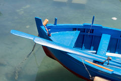 Fishing boats in harbour Stock Image