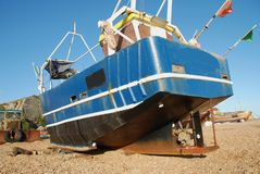 Fishing boats, Hastings Royalty Free Stock Images