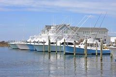 Fishing boats. In Hatteras, North Carolina Royalty Free Stock Image