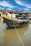 Fishing boats in Hoi An Royalty Free Stock Image
