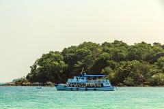 Fishing boats Island. Stock Image