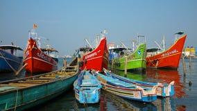 Fishing boats, Kerala, India Stock Photo