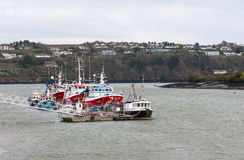 Fishing boats in Kinsale Stock Images