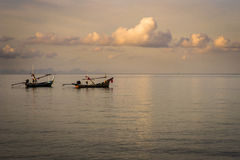 Fishing boats in Koh Phi Phi 2 Royalty Free Stock Images