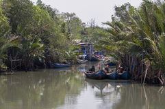Fishing boats. Royalty Free Stock Image