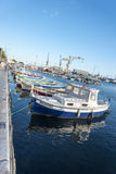 Fishing boats La Ciotat harbour royalty free stock photography