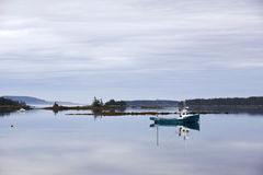 Fishing Boats in the Lahave Islands, Nova Scotia Royalty Free Stock Photography